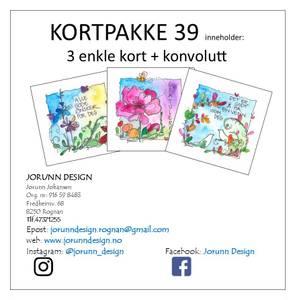 Bilde av Kortpakke 39